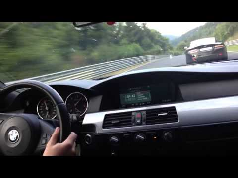 Nurburgring Bmw 525d E61