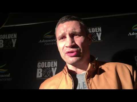 Klitschko reaction to peds povetkin