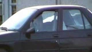caught on tape guy angry at car