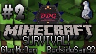 [NL] Minecraft! BedsideSam92 & GlenMcDen Survival #2! - Terugkeer van de Meeuw (Dikke Doei Gaming)