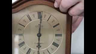 Junghans Quattro Phon  Mantel Shelf Clock Germany Ave Maria Whittington Bim Bam Westminster