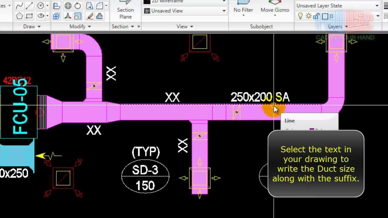 Prolisp Hvac Utilities Ductulator Youtube