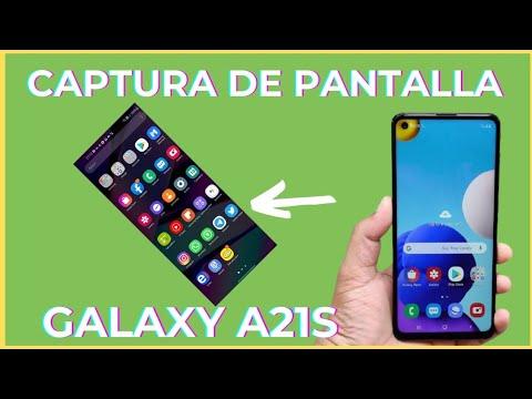 Como Hacer Una Captura De Pantalla Samsung Galaxy A21s Tips Y Trucos A21s Youtube