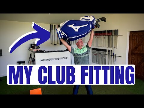 GETTING FITTED FOR MY NEW CLUBS!!!
