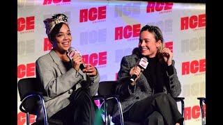 Brie Larson & Tessa Thompson at ACE Comic Con Q&A Panel (FULL)