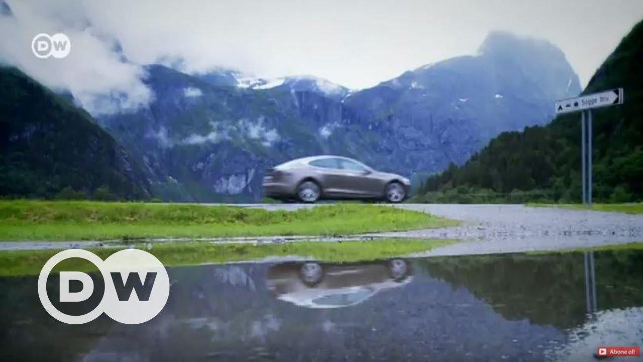 Norveç'te otomobillerin beşte biri elektrikli - DW Türkçe