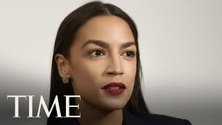 Alexandria Ocasio-Cortez's Unlikely Rise: AOC On Her Family, Generational Differences & More | TIME Alexandria Ocasio-Cortez sits down with TIME's Charlotte Alter. The 29-year-old, newly-elected Congresswoman represents a generational shift among the ..., From YouTubeVideos