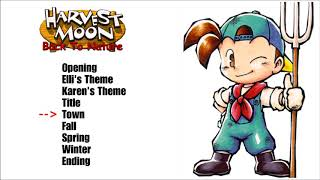 Musik Game Harvest Moon back To Nature