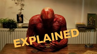 he took off his skin for me explained