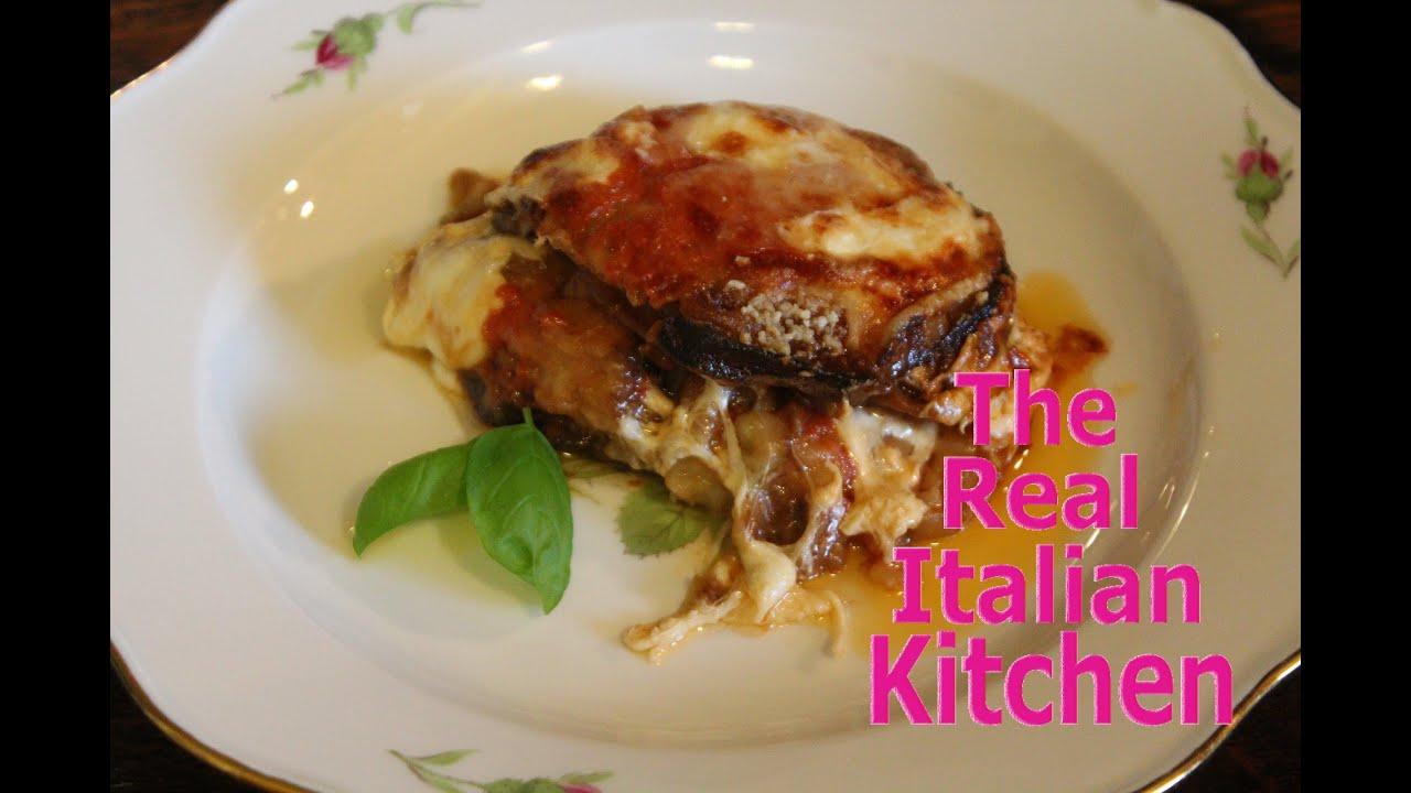 Make Original Italian Eggplant Parmigiana - Melanzane alla parmigiana ...