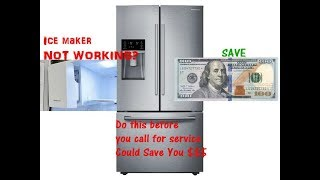 How to Reset ICE Maker for Sam…