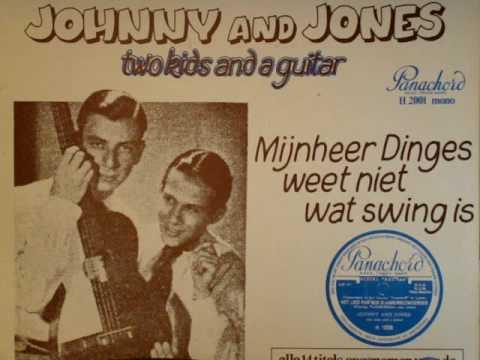 Johnny and Jones - Mijnheer Dinges weet niet wat swing is