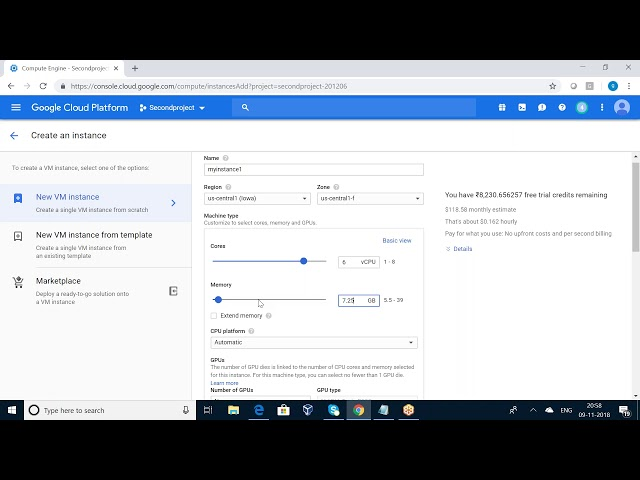 GOOGLE CLOUD COMPUTE ENGINE TUTORIAL
