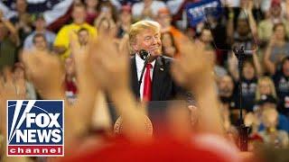 Watch Live: Trump hosts \'MAGA\' rally in Iowa