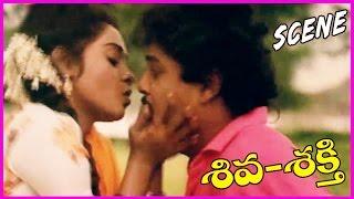 Shiva Shakthi    Telugu Movie Scene - Naresh,Liji