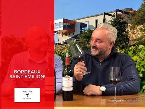 🔴 Wein Verkostung Bordeaux Superieur & Saint Emilion Grand Cru  - Maluni TV
