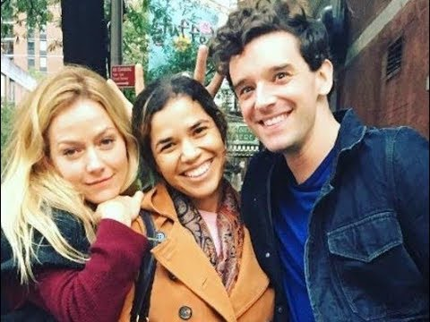 America Ferrera reunites with 'Ugly Betty' co stars Becki Newton, Michael Urie