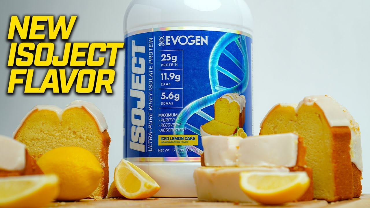 NEW ISOJECT ICED LEMON CAKE AVAILABLE NOW