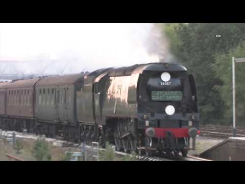 Bulleid steam and speed collection (re edited)