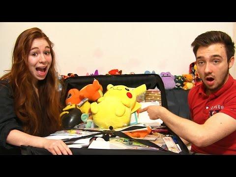 Ouverture d'une ENORME Valise de Cadeaux d'Abonnés Pokémon ! MERCI LA SUISSE !