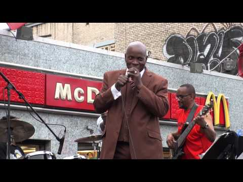 Mighty Sparrow @ Charlie's Records Labor Day Saturday 2014 Soca Show
