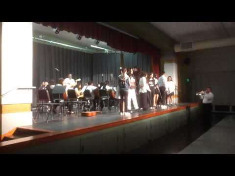 Joaquin's first Mariachi performance Burnett Middle School San Jose Ca
