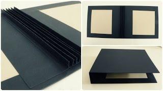 20x20 Scrapbook #1 * Cover & Bindung (Hidden Hinge) [eng sub]