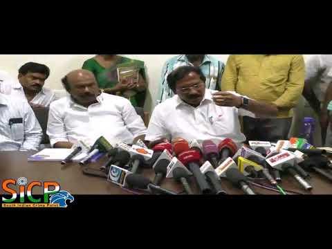 Ma pa Pandiarajan Press meet at Madurai