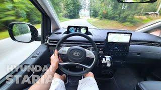 New Hyundai STARIA Lounge 2022 Test Drive POV
