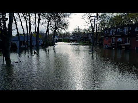 Floods in Deux-Montagnes