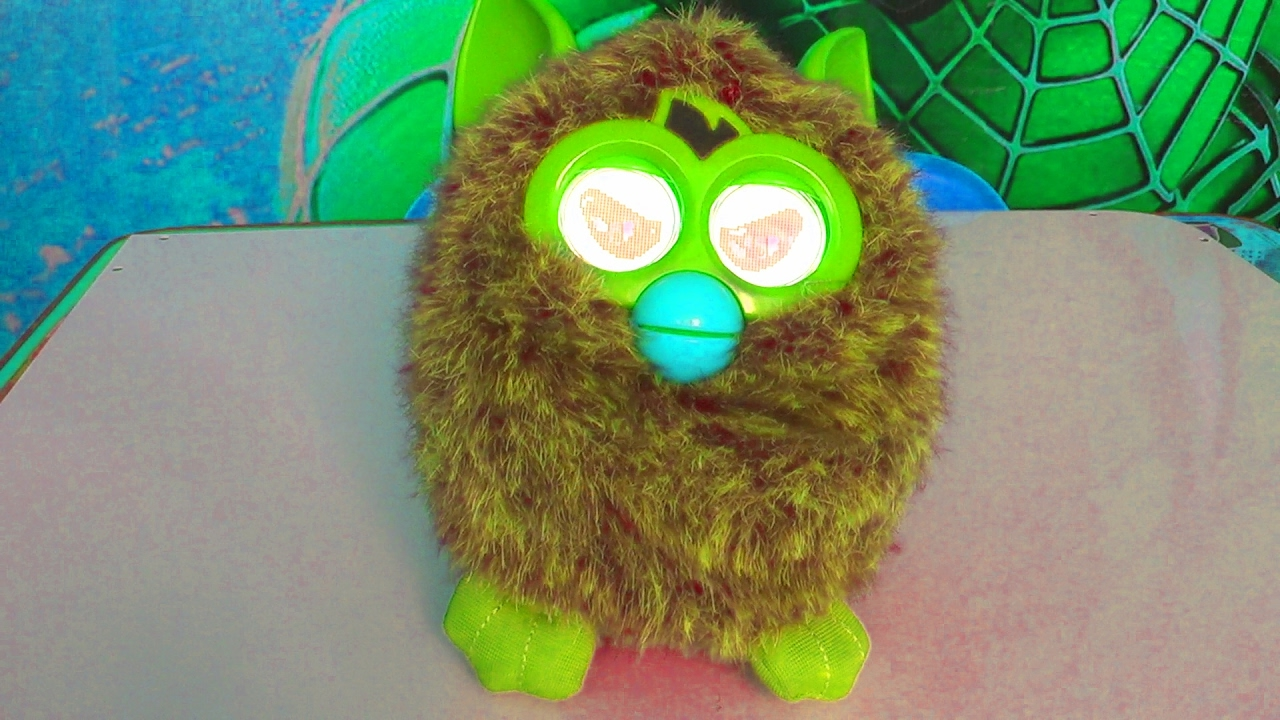Злой Ферби - Интерактивная игрушка - Видео для детей