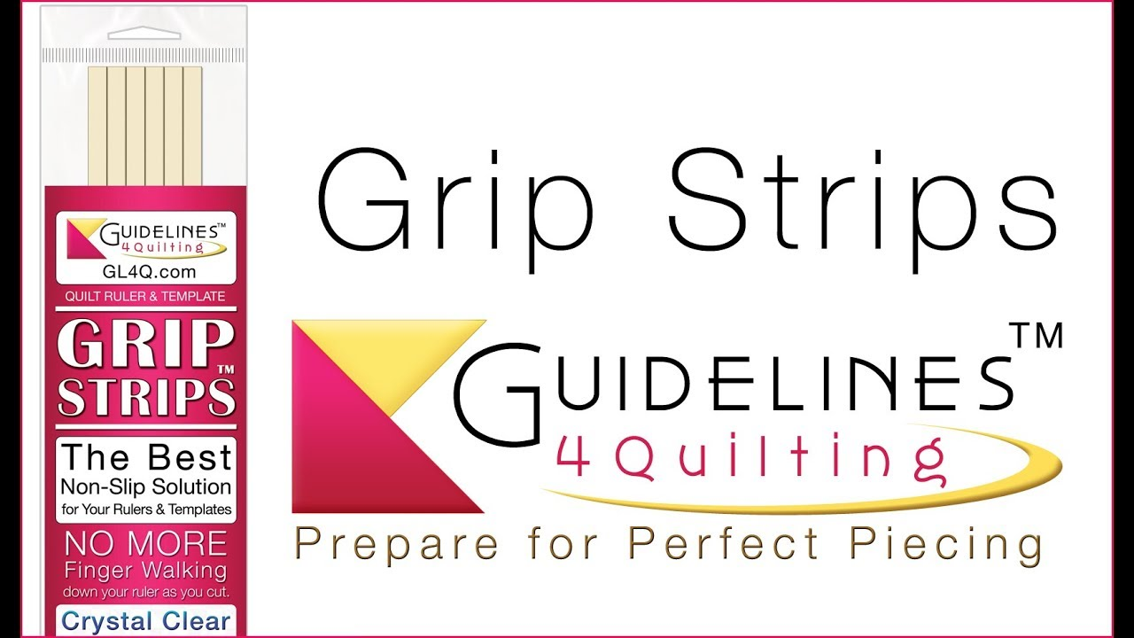 Grip Strips: The Best Non-Slip Solution for Your Quilt Rulers ... : guidelines for quilting - Adamdwight.com