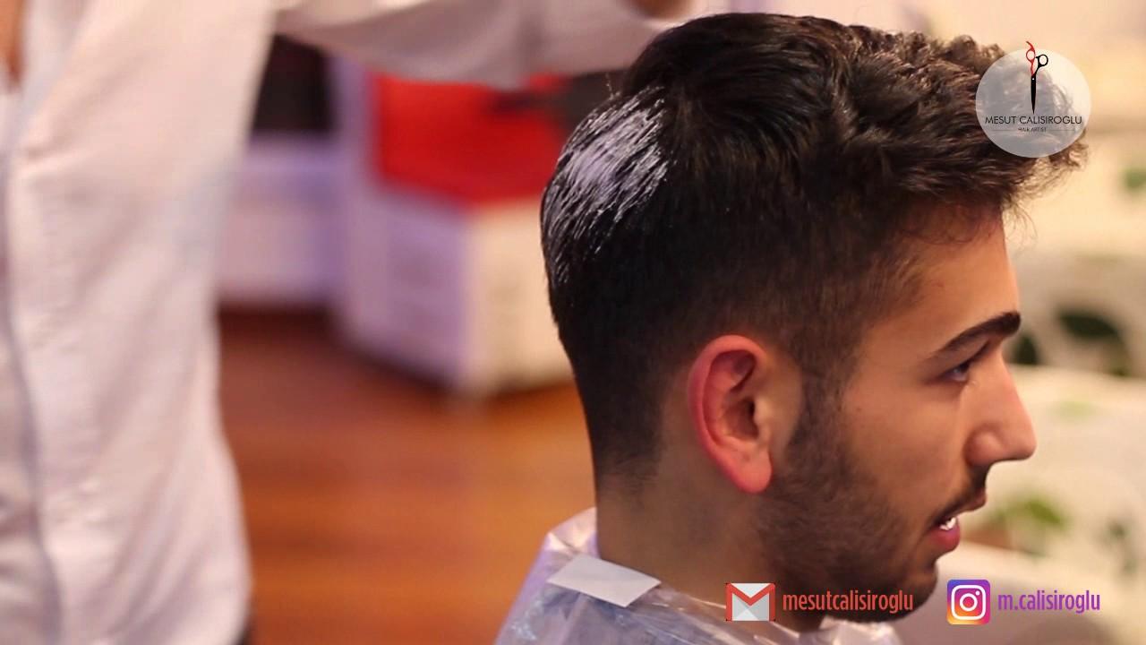 Erkekler Için Saç Kesimi Ve Gri Saç Rengi Men Silver Hair And