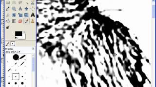 Creating Scroll Saw Portrait Patterns Using Gimp - L6