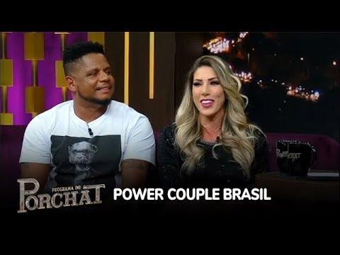 Tati Minerato e Marcelo relembram vitória no Power Couple
