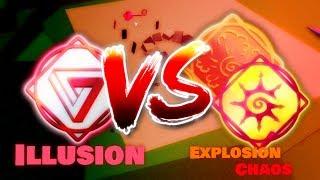 Illusion vs Chaos & Explosion   Elemental Battlegrounds