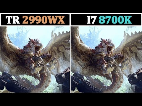 2018 AMD TR 2990WX Vs Intel I7 8700K | Tested 15 Games |