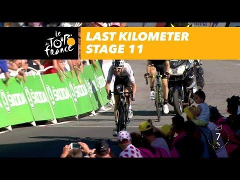 Last kilometer - Stage 11 - Tour de France 2018