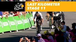 Video Last kilometer - Stage 11 - Tour de France 2018 download MP3, 3GP, MP4, WEBM, AVI, FLV Juli 2018