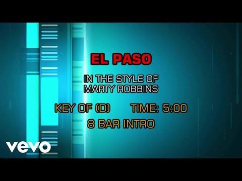 Marty Robbins - El Paso (Karaoke)