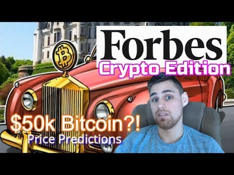 Forbes: Crypto Edition And $50k Price Prediction?!