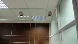 видео Внешний вид офисных перегородок