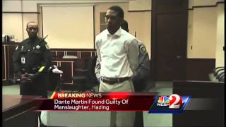 Former FAMU band member convicted of manslaughter in hazing death