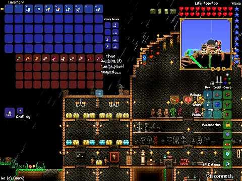 Terraria Loot from 2,000 Silt/Slush Blocks