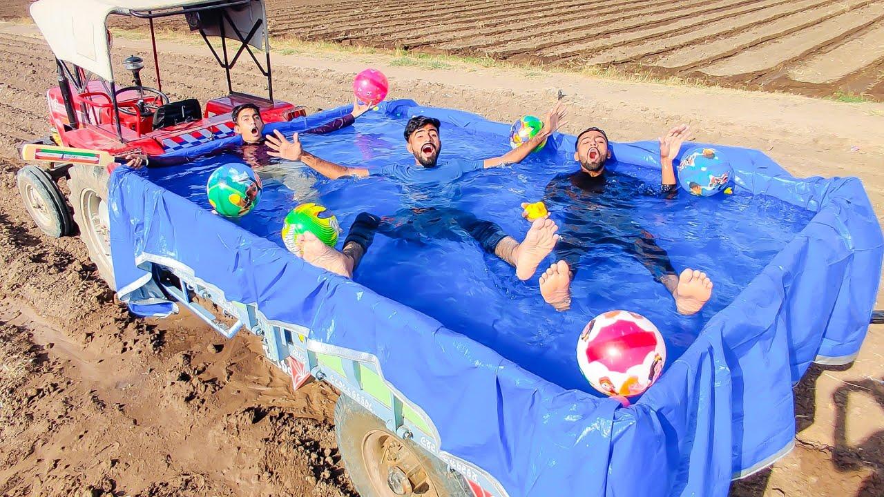 We Made Anywhere Swimming Pool | हमने बनाया चलता फिरता स्विमिंग पूल🤣