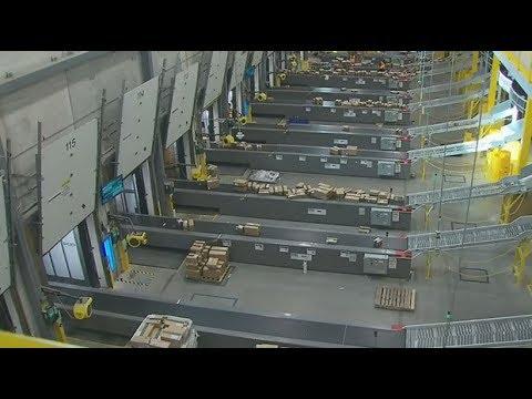 Behind the scenes: CTV tours Amazon's warehouse