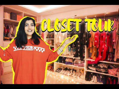 CLOSET TOUR || KRITIKA KHURANA