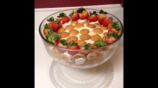 """Over The Top """"banana Pudding"""" With Graham Cracker Crust"""