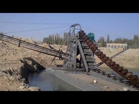 Bucket Chain sand & gravel dredger ( dredge depth:25m)--(whatsapp:+86-18363682790)
