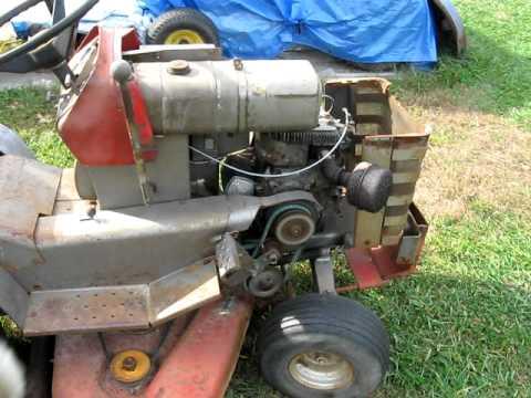 1968 Massey Ferguson MF 12 Garden Tractor   YouTube